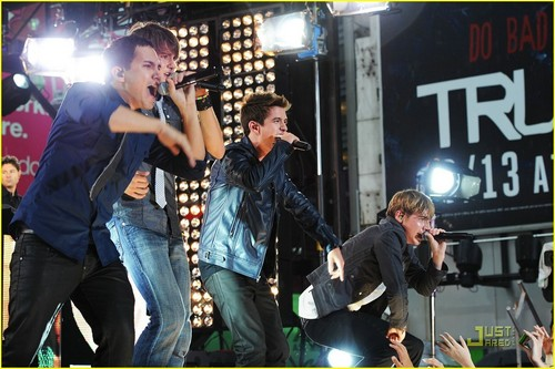 Big Time Rush show, concerto 1