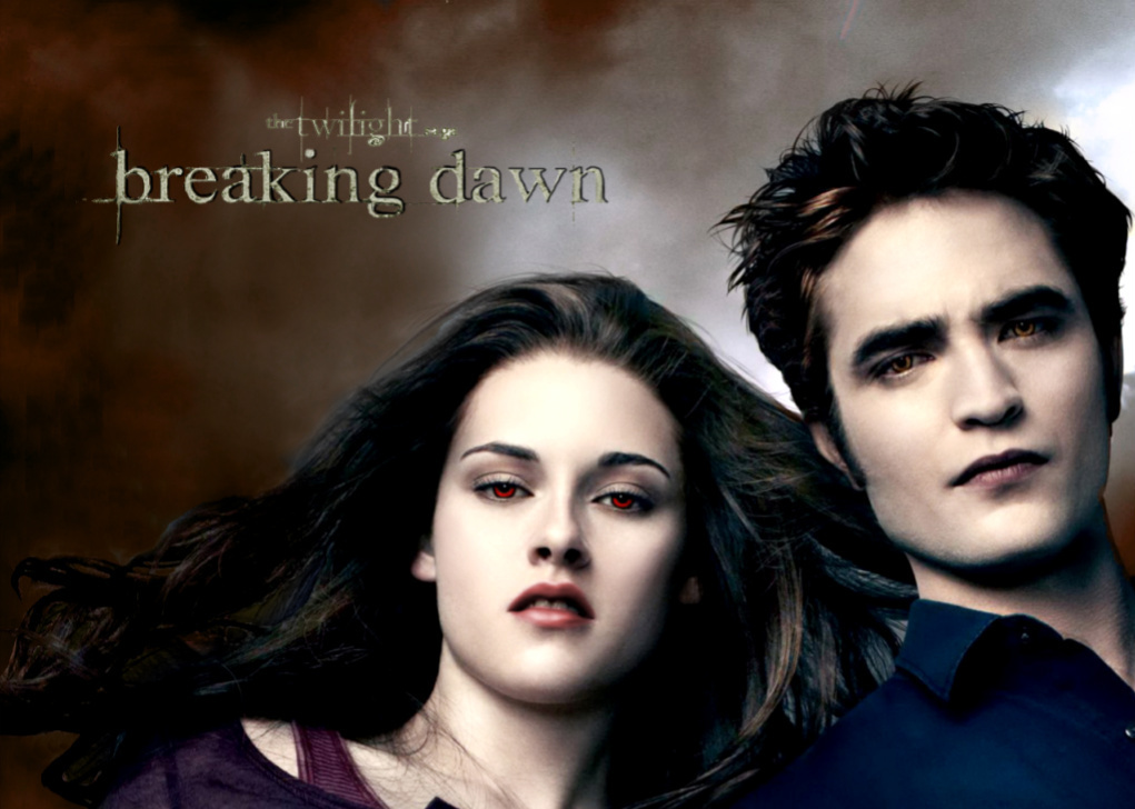 Breaking Dawn Edward and Bella Cullen - Twilight Series ...