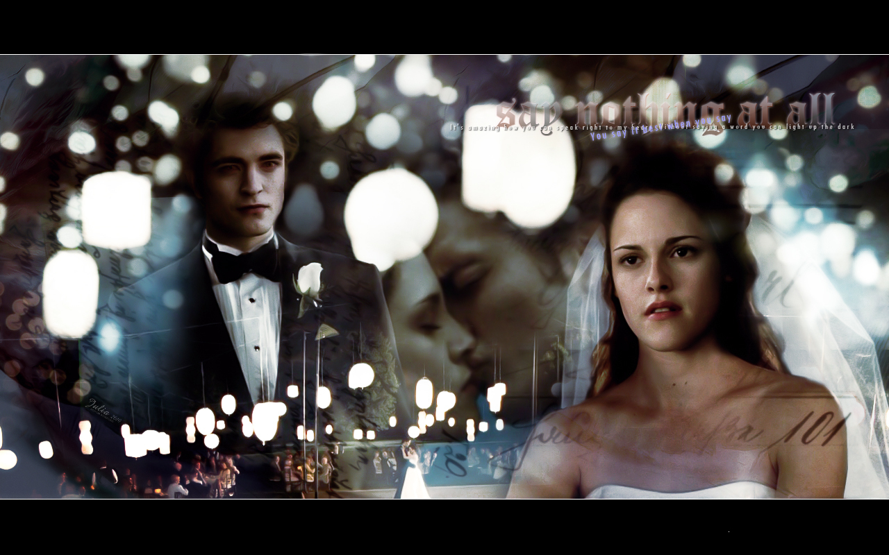 Breaking Dawn - Wedding