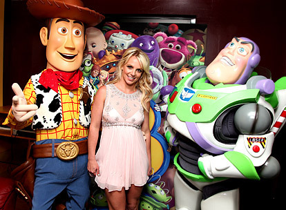 Britney Spears at Toy Story 3 L.A premiere