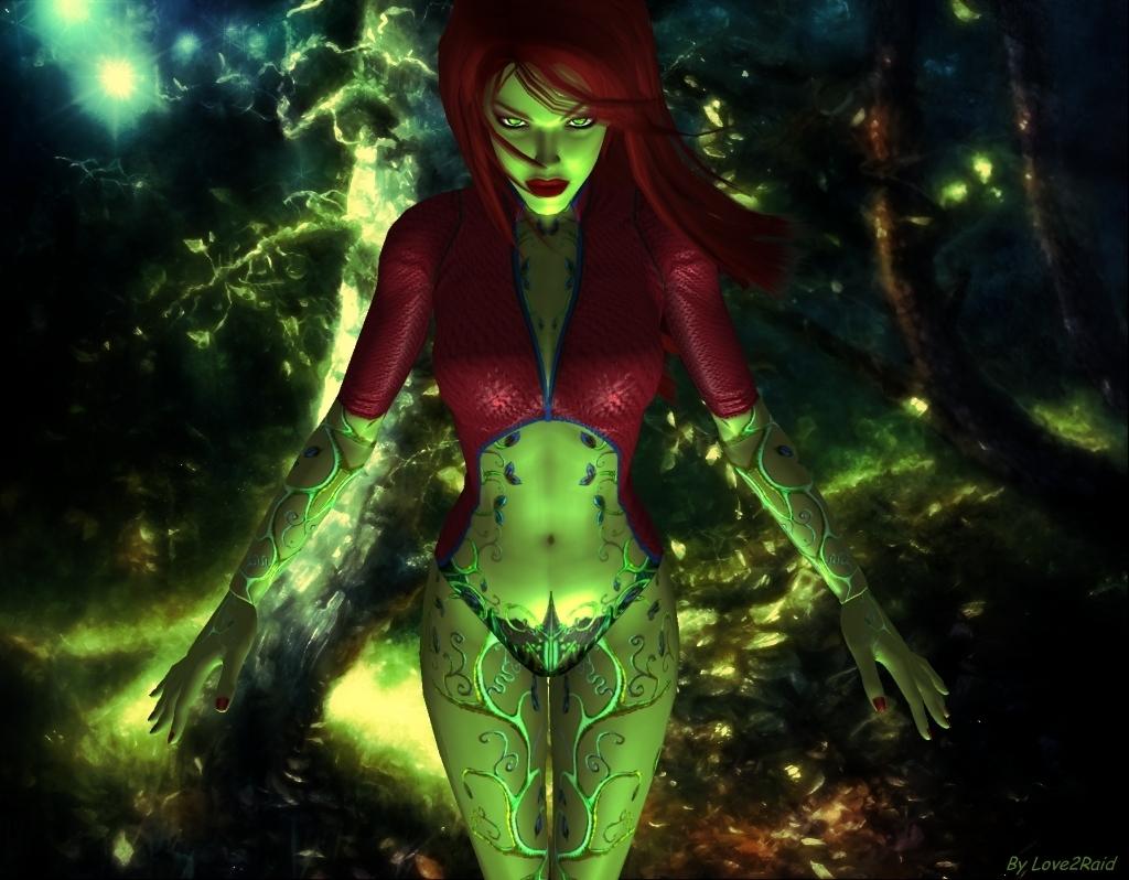 Gotham Girls CGI Poison Ivy