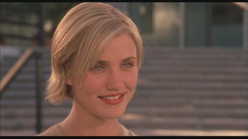 """Cameron Diaz wallpaper titled Cameron Diaz in """"There's Something About Mary"""""""