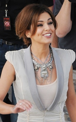 """Cheryl Cole arriving for """"X Factor"""" auditions (June 13)"""