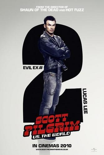 Chris Evans - Scott Pilgrim Vs The World Poster
