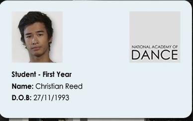 Christian's ID Card!