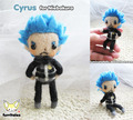 Cyrus Felted doll