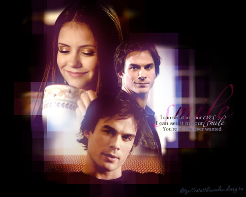 Damon Salvatore & Elena Gilbert