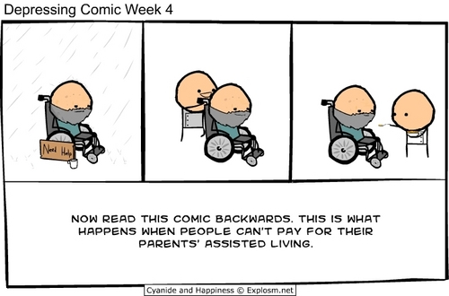 Depressing Comic Week 4 - cyanide-and-happiness Photo