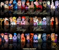 Disney Villians collage