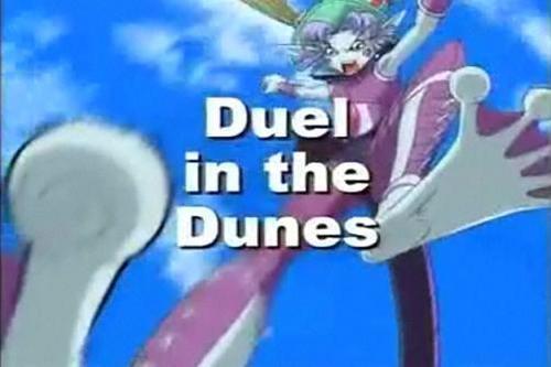 Duel in the dunes