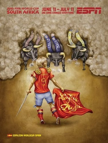 La Furia Roja!!! Fernando Torres as Bullfighter