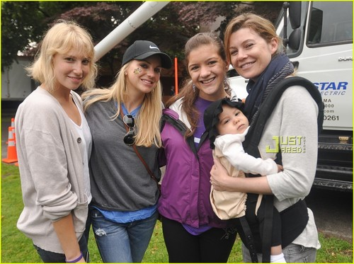 Ellen Pompeo Walks for Children's Hospital Boston