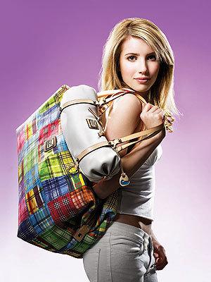 Emma Roberts With Bag