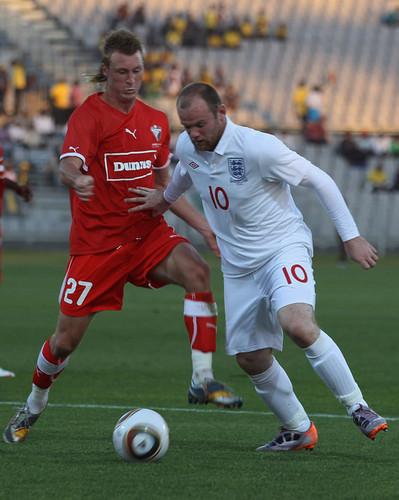England v Platinum Stars Friendly match (June 7)
