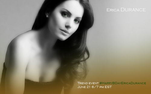 Erica Durance Birthday Event!