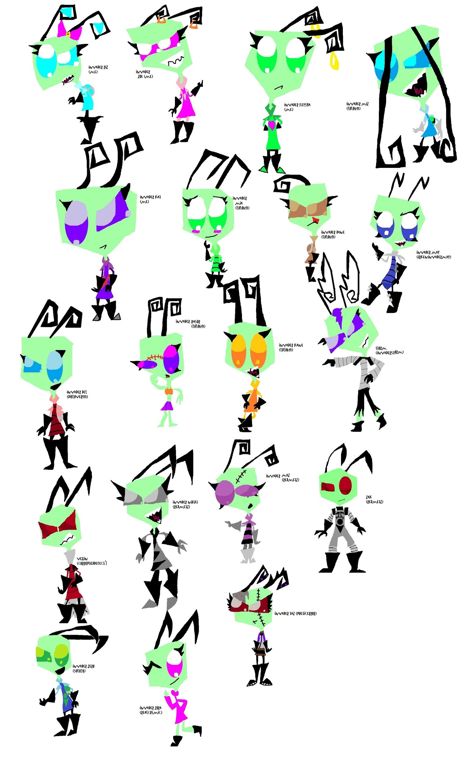 Фан Characters ^.^