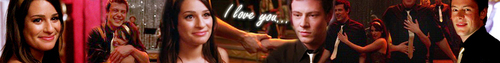 Rachel Berry picha entitled Finchel Banner