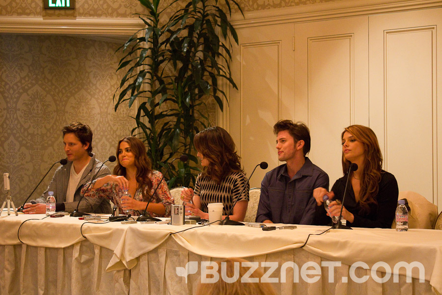 First 日 At the Press Junket