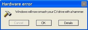 Funny Windows Errors