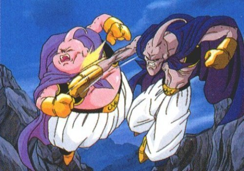 Good Buu Vs Evil Buu