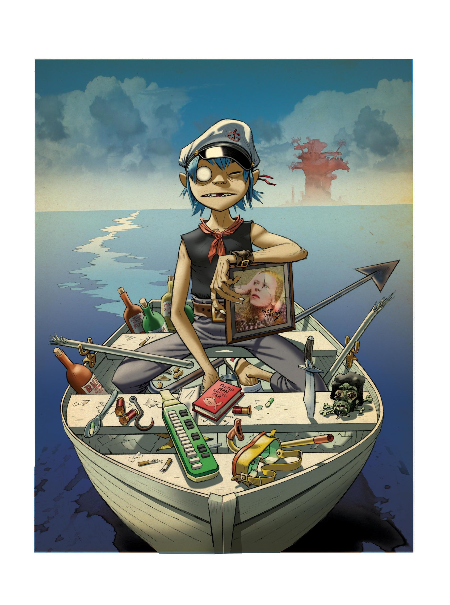 gorillaz wallpapers plastic beach - photo #29
