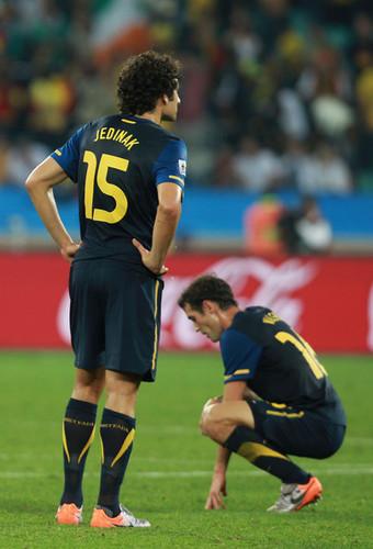 Group D: Germany (4) vs Australia (0)