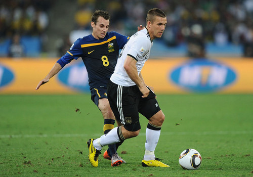 Group D: Germany (4) vs Australia (0)