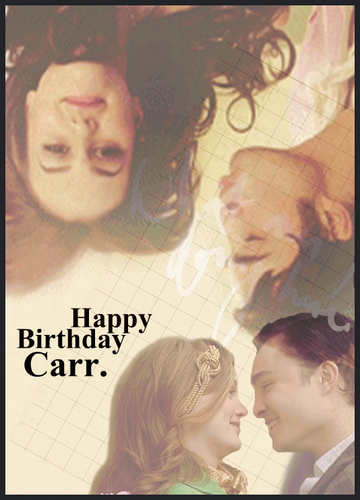 HAPPY B-DAY Carr. < 3