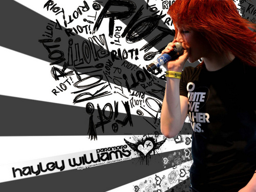 Brand New Eyes wallpaper titled HAYLEY