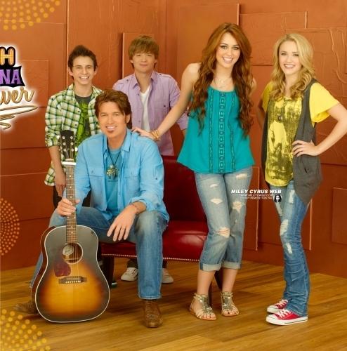 Hannah Montana Season 4 Promotional Shoot