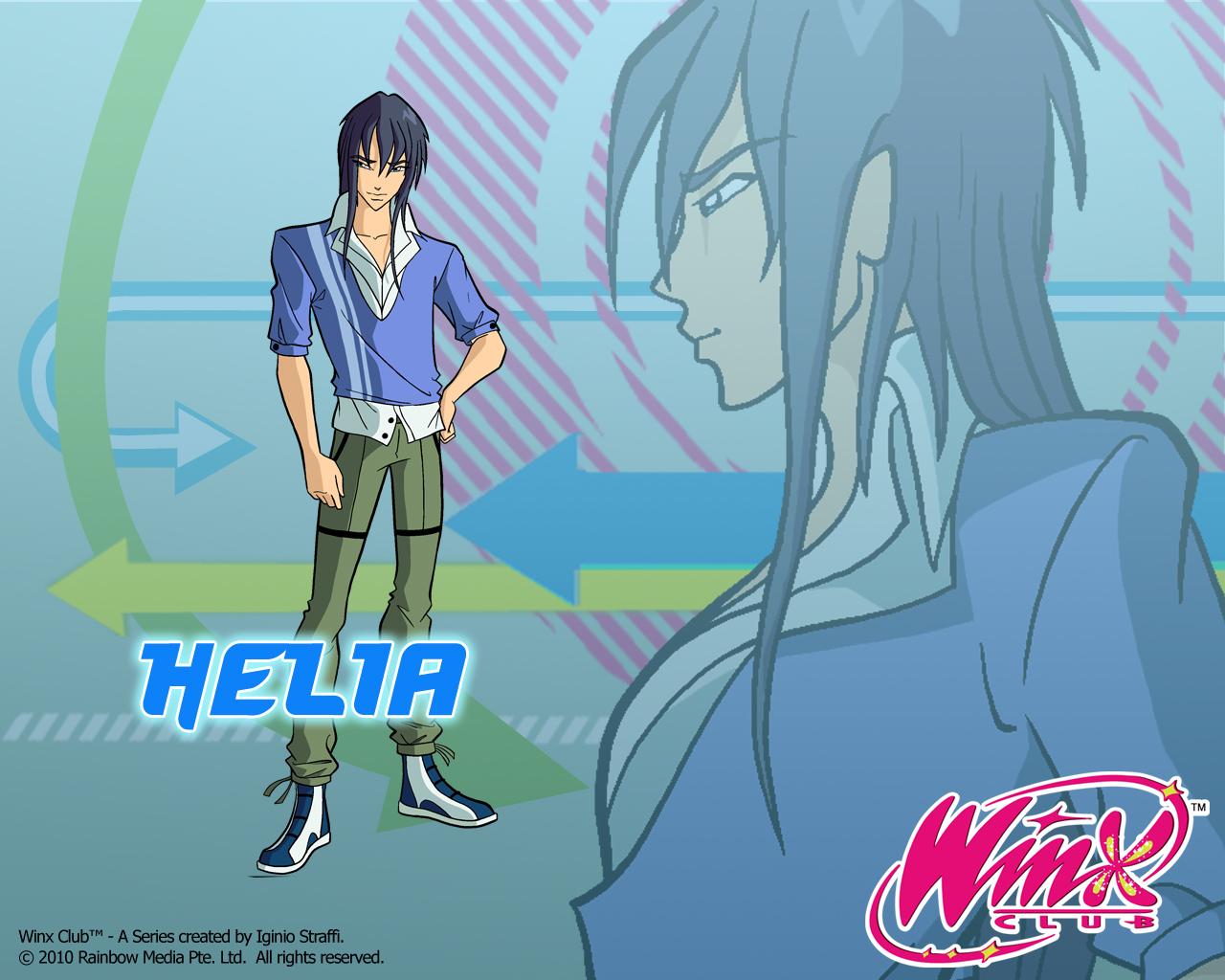 Helia - the-winx-club wallpaper