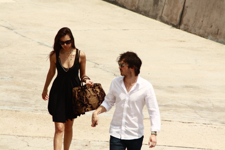 Ian&Nina - ian-somerhalder-and-nina-dobrev photo