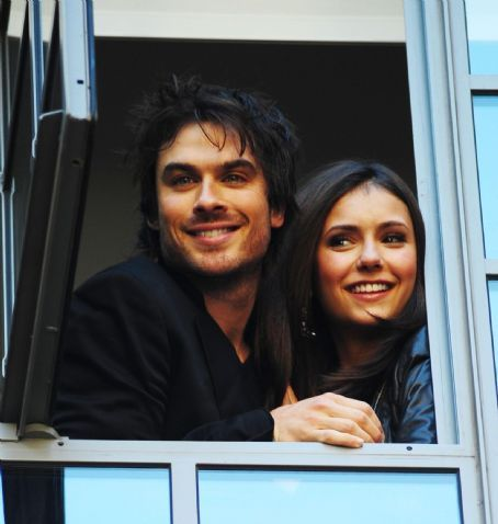Ian Somerhalder and Nina Dobrev wallpaper called Ian and Nina