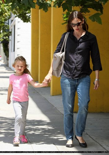 Jen Out with Violet!