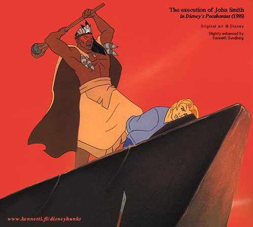 Disney Prince kertas dinding titled John Smith
