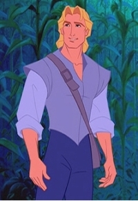 Disney Prince Hintergrund titled John Smith