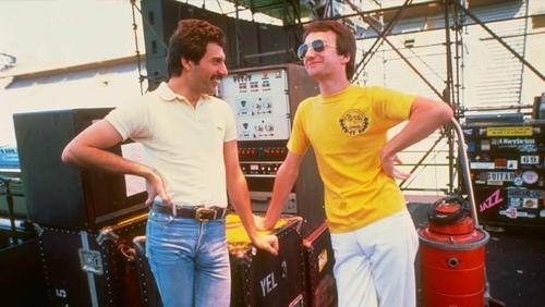 John and Freddie Mercury