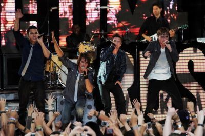 June 10, 2010 - Big Time Rush Performs in NYC's Time Square