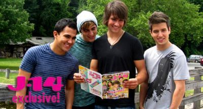 June 11, 2010 - Big Time Rush Does a Photoshoot with J-14