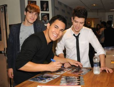 June 11, 2010 - Big Time Rush On The PIX Morning Zeigen