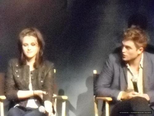 LA Convention; Kristen and Robert