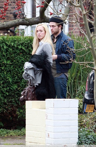 Lizzy et Robert à Londre