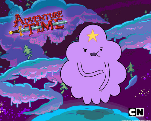 Adventure Time With Finn and Jake wallpaper called Lumpy Space Princess
