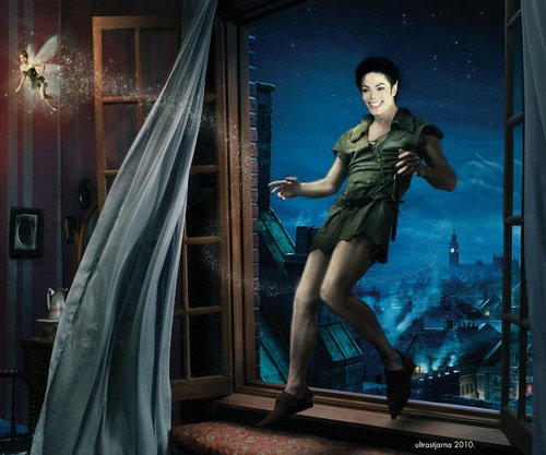 MJ peter pan