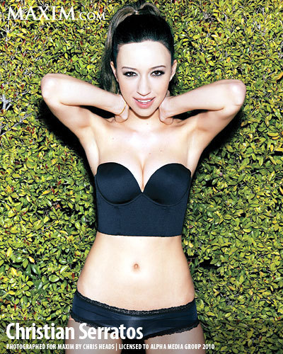 Christian Serratos wallpaper titled Maxim Photo Shoot Outtakes
