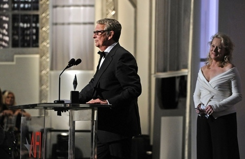 Meryl Streep attends AFI Lifetime Achievement Award to Mike Nichols