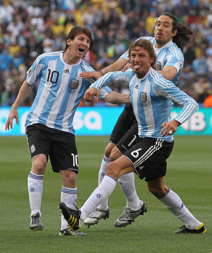 Messi - 2010 FIFA World Cup - vs. Nigeria