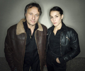 Michael Nyqvist & Noomi Rapace