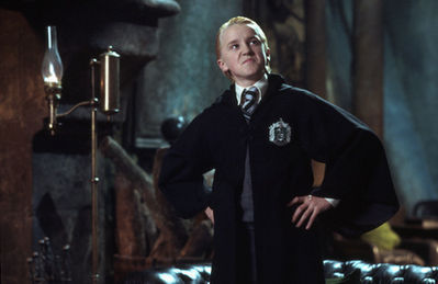 Tom Felton wallpaper titled Movies & TV > Harry Potter & the Chamber of Secrets (2002) > Behind the Scenes