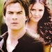 Nina/Ian and Damon/Elena icons - damon-and-elena-and-ian-and-nina icon